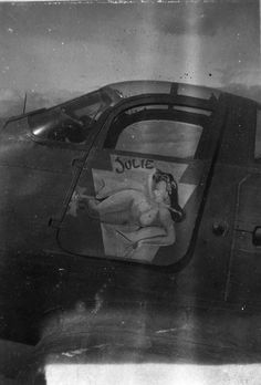 35th Fighter Group Julie Julie P-39 41st Fighter Squadron Sharpe 19 (Thomas Sharpe Collection)
