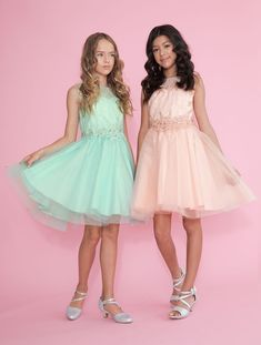 1c86bf771 Girls Pageant Dress Tulle with Lace Accents – FirstCommunions.com Tween  Party Dresses, Girls