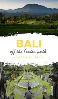 Want to know where to go on Bali Indonesia away from the crowds? These off the beaten path places are just a few to add to your bucket list.   #Travel #TravelTips #IndieTraveller #Bali #Indonesia #BaliTravel Bali Travel, Wanderlust Travel, Travel Guides, Travel Tips, Kuta Beach, Southeast Asia, Where To Go, Travel Inspiration, Travel Destinations