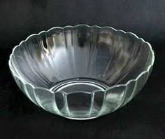 Resultado de imagen para tazones de vidrio como refractarias