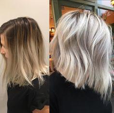 6 Great Balayage Short Hair Looks – Stylish Hairstyles Balayage Hair Blonde, Short Balayage, Balayage Hairstyle, Ash Blonde, Ombre Hair, Medium Hair Styles, Short Hair Styles, Honey Blond, My Hairstyle
