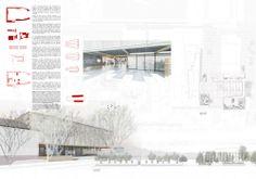 Primer Lugar  Concurso Edificio Docente y de Investigación Escuela de Arquitectura UC Cortesía de Gonzalo Claro + Equipo