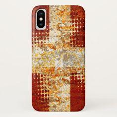 Religious halftone cross iPhone x case