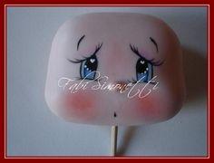 Air suhe gline Tutoriali: 5 koraka do Slikarstvo je slatka lica Face Painting Tutorials, Clay Tutorials, Clothespin Dolls, Doll Eyes, Sewing Dolls, Doll Tutorial, Clay Dolls, Doll Maker, Soft Dolls