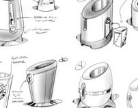 These are a few sketch examples from my consulting days.  To see more, go to www.tinyrobot.com