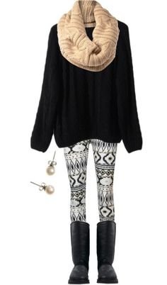 leggins outfit