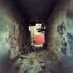 Urban Grunge Fine Art Print. Dark Alley Photography Print. Urban Art Photo. Grunge Art. Canvas Print Unframed Photography Framed Prints by ZenStatePhotography from ZenStatePhotography. Find it now at http://ift.tt/18k1Q7M!
