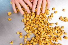 NoMad pastry chef Mark Welker shows us how to make delicious, non-sticking-together caramel corn at home