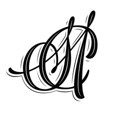 Monogram for Simone and Malcolm Collins
