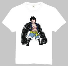 Mens Japan Hot Anime One Piece Luffy Gear 4 Printing T-shirt Luffy Gear 4 Top Tees Shirt One Piece Luffy, One Piece Anime, Luffy Gear 4, Anime Merchandise, Hot Anime, Tee Shirts, Tees, Printing, Japan