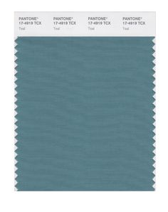 Pantone Smart Swatch 17-4919 Teal. Use as neutral, far from face.