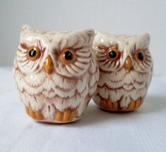 Owl salt  pepper shakers...LOVE THESE!!!!!