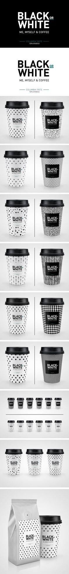 Black or White Coffee Mock-up on Behance PD #coffeeart
