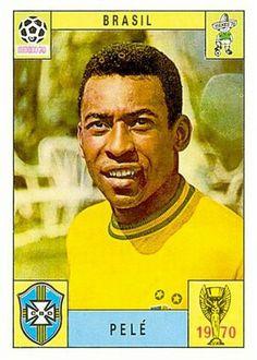 180 Pele - Brasil - FIFA World Cup Mexico 1970