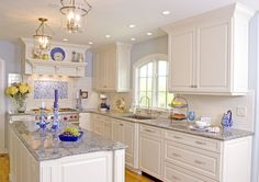 Traditional Kitchen Photos Blue And White Kitchens Design, Pictures, Remodel, Decor and Ideas
