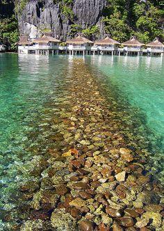 Breakwater, Miniloc Island, El Nido, Philippines - still our favorite family vacation