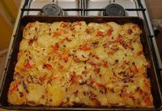 Lacikrumpli ahogy én készítem Potato Dishes, Potato Recipes, Meat Recipes, Cooking Recipes, Recipies, Hungarian Recipes, Fruits And Vegetables, Lasagna, Macaroni And Cheese