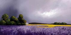 Barry Hilton - Indigo Landscape