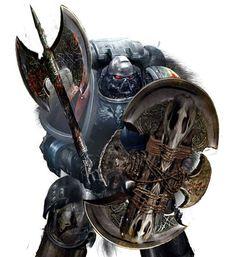 Space Wolves Mais Warhammer 40k Space Wolves, Warhammer 40k Art, Warhammer 40k Miniatures, Warhammer Fantasy, War Hammer, Game Workshop, The Grim, Geek Art, Space Marine