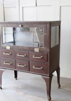 RESERVED Vintage Medical Cabinet by lovintagefinds on Etsy https://www.etsy.com/listing/165340778/reserved-vintage-medical-cabinet