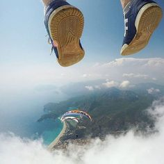 Fethiye paragliding, Turkey. Tag someone to fly with! ❤️😍 🔹 Photo credits: @buraktuzer 🔹 Hashtag #worldtravelbook 🌍 to be featured. 🔹 Follow my personal account @sharqawii 🙃 🔹 Add worldtravelbook 👻 on Snapchat!