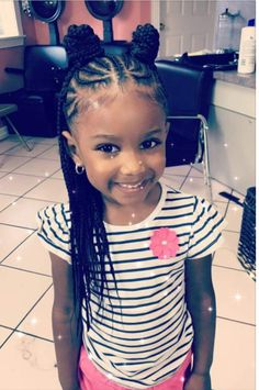 97 Amazing Baby Braided Hairstyles In Baby Girl Braided Hairstyles Walkthrough Video Watch at 21 attractive Little Girl Hairstyles with Beads – Hairstylecamp, the 11 Cutest Box Braids for Kids In Cute Little Girl Braid Hairstyles Little Girl. Black Kids Hairstyles, Natural Hairstyles For Kids, Baby Girl Hairstyles, Kids Braided Hairstyles, Teenage Hairstyles, Little Girl Braid Hairstyles, Hairdos, Toddler Hairstyles, Short Hairstyles