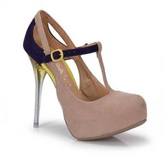 Sapato Feminino Lara Costa 7211769 - Bege