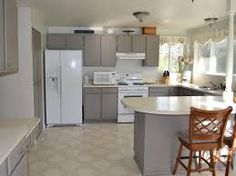 Painting Kitchen Cabinets Gray   Google Search
