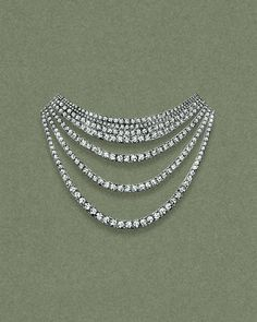 A sketch of the Tiffany Masterpieces Ribbon jewellery collection necklace, set in platinum with round-brilliant diamonds. The collection is inspired by the grace and elegance of Audrey Hepburn in 'Breakfast At Tiffany's', gently draping across the body. See more: http://www.thejewelleryeditor.com/jewellery/tiffany-masterpieces-high-jewellery-at-its-most-wearable/ #jewelry #art
