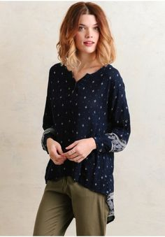 A Thousand Stars Printed Blouse | Modern Vintage Clothing | Ruche