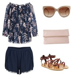 """""""Summer Fun"""" by love-dogs4ever on Polyvore featuring VILA, Diane Von Furstenberg, K. Jacques, STELLA McCARTNEY, Whistles, women's clothing, women, female, woman and misses"""