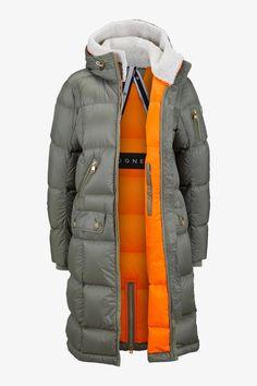 5370e3cb1d7d Malen Down parka in Green for Women | BOGNER UK #raincoatsforwomenideas  Clothes For Women In