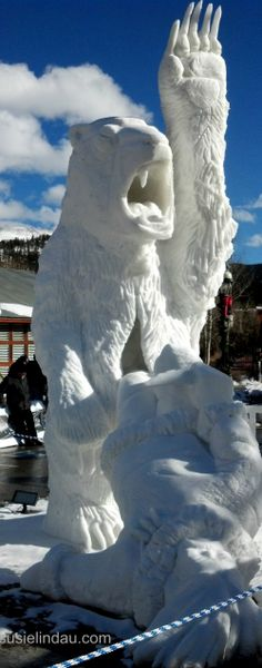 snow sculpture 2