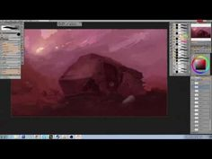 Ep:02 Digital Paint Along - Paintstorm Studio - YouTube
