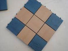 Square non-slip wood flooring