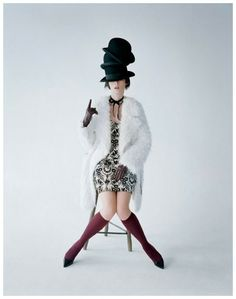 Audrey Marney by Tim Walker 2011