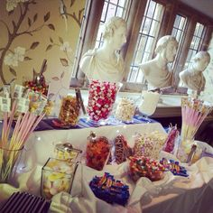 Classic sweets from the Deluxe Occasions Candy Cart. Visit them on Stand 58 at The North East Wedding Show. Book today! http://www.theukweddingshows.co.uk/?utm_source=social%20media&utm_medium=pinterest&utm_campaign=LUX