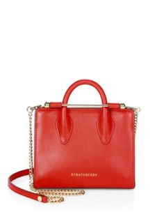 STRATHBERRY Nano Tote. #strathberry #bags #shoulder bags #hand bags #leather #tote #