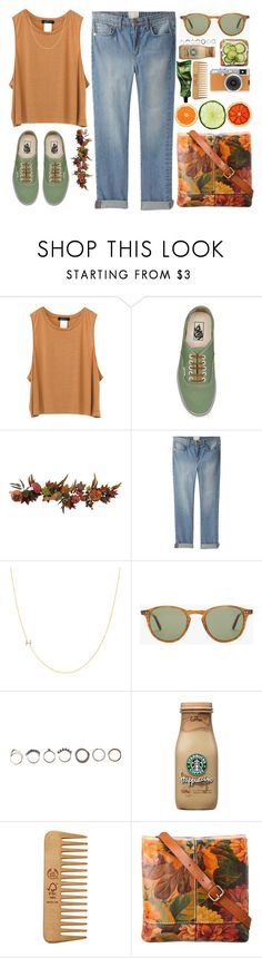 """""""Untitled #833"""" by punk-queen01 ❤ liked on Polyvore featuring Vans, Nearly Natural, Band of Outsiders, Maya Brenner Designs, Garrett Leight, Iosselliani, Fujifilm, The Body Shop and Patricia Nash"""