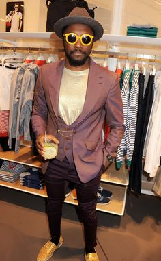 Will.I.am @ the opening party of the largest Lacoste store in the world, the Lacoste Knightsbridge flagship in London. @Marchon Eyewear