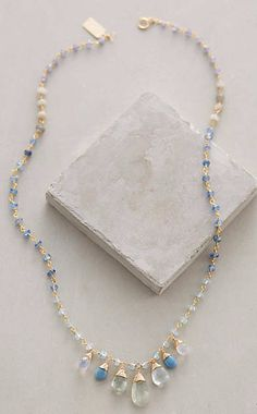 Oceanic Ombre Necklace #anthroregistry