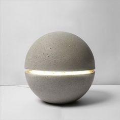 concrete Gayalux Lamp   xiral segard