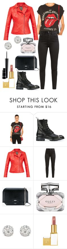 """""""Untitled #3330"""" by fcharese ❤ liked on Polyvore featuring MadeWorn, Alexander Wang, MuuBaa, Levi's, Givenchy, Gucci, Accessorize, Tom Ford and MAC Cosmetics"""