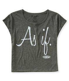 As If Boxy Graphic T from Aeropostale