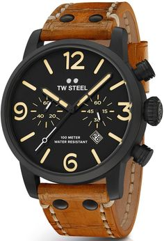 TW Steel Watch Maverick Chronograph #basel-16 #bezel-fixed #bracelet-strap-leather #brand-tw-steel #case-material-black-pvd #case-width-48mm #chronograph-yes #classic #date-yes #delivery-timescale-1-2-weeks #description-done #dial-colour-black #gender-mens #movement-quartz-battery #new-product-yes #official-stockist-for-tw-steel-watches #packaging-tw-steel-watch-packaging #style-dress #subcat-maverick #supplier-model-no-twms34 #warranty-tw-steel-official-2-year-guarantee…