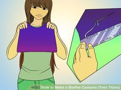 Image titled Make a Starfire Costume (Teen Titans) Step 1