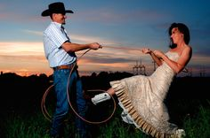 Cowboy wedding. Love this picture!!
