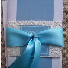 Cute color-themed wedding invitations