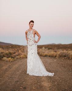 Stylish Indie Karoo Wedding in Matjiesfontein by Hewitt Wright | SouthBound Bride