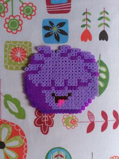 Flupe from Fun with Flupe, by Helen Doron English, in Hama Bead.
